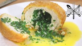 Garlic Butter Stuffed Chicken Breast - Chicken Kiev Recipe
