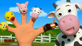 Animals Finger Family And More Rhymes -  Episode 41