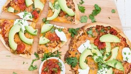 Mexican Tortilla Pizza - Easy Dinner Recipes