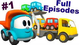 Leo The Truck Full Episodes 1  Cartoons For Children  Bus Cartoon For Children