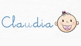 Origen del nombre Claudia - Nombres para bebés