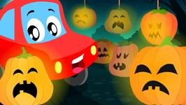 Jack 'O' Lantern - Little Red Car - Halloween Songs and Rhymes for Kids