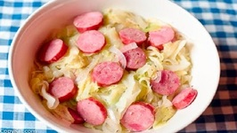 Cheap Eats Cabbage With Sausage