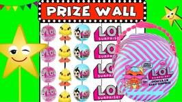 Goldie's Toy LOL Carnival Prize Wall Game- Win the LOL Ooh La La Surprise!