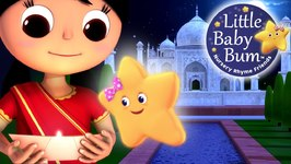 Twinkle Twinkle Little Star - Part 3 in India - Nursery Rhymes
