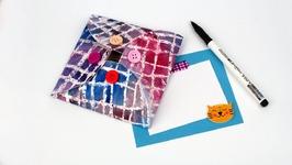 DIY Wax Paper Envelope