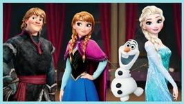 Disney Frozen Rush - 1 - Elsa Anna Olaf And Kristoff Runner - Disney Games