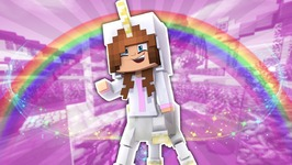 BABY ELLIE TURNS INTO A UNICORN?! Minecraft Little Kelly