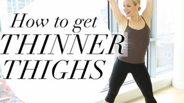 How To Get Thinner Thighs - How To Get Leaner Stronger Legs - No Bulking