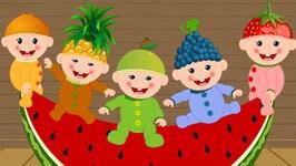 Five Little Babies - Nursery Rhymes - Baby