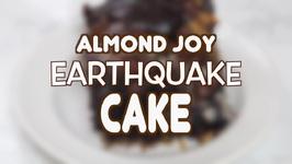 Almond Joy Earthquake Cake