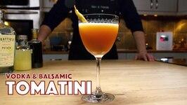 Tomatini Vodka And Balsamic Vinegar Cocktail - Cocktails After Dark