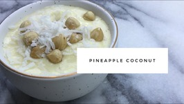 Guilt Free Ice Cream-Pineapple Coconut