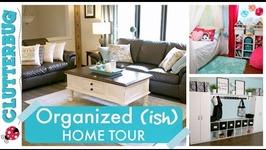 Organized (ish) Home Tour - Storage Ideas