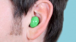 M&M's Stuck In Ear