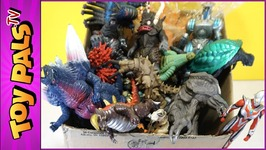 100 Plus Kaiju Figures - Ultraman & Godzilla Toy Collection - What's In The Garage Sale Box?