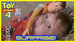 Toy Story 4 - Doritos Thief Mystery Surprise - Forky Rex Woody Buzz
