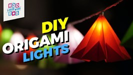 How to Make Origami Lights - Independence Day Special