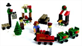 Lego 2017 Christmas Train Review Set 40262