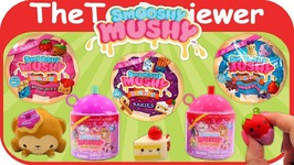 Smooshy Mushy Series 2-5 Do-Dat Donut Besties Squishy Unboxing Toy Review