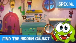 Find the Hidden Object Ep 7 - Om Nom Stories - Puppeteer