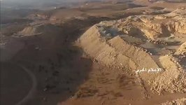 Drone Shows Areas Hezbollah Claim to Have Captured in Arsal