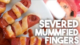 Severed Mummified Fingers - Halloween Weiners - Kravings