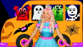 The Wheels on the Bus Halloween Song for Kids