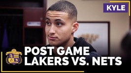 Kyle Kuzma On Starting For The Lakers, Being A Fan Favorite