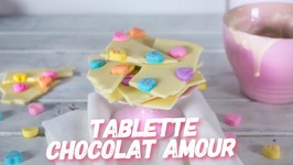 Recette Tablette Chocolat Amour / Chocolate Bark