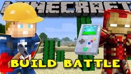 Minecraft MineVengers - SUPER HERO BUILD BATTLE!