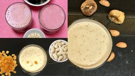 Fruits And Nuts Milkshakes For Upvas Fasting