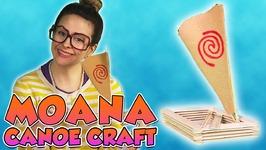 DIY Moana Boat - Arts and Crafts with Crafty Carol