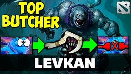 Levkan Pudge TOP BUTCHER Dota 2