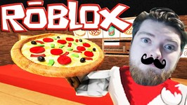 I BURNT DOWN THE PIZZA PLACE - Sharky Gaming - Roblox