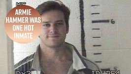 Armie Hammer Laughs At His Own Mugshot