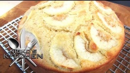 Swedish Apple Cake (Äppelkaka)