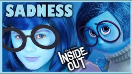 INSIDE OUT SADNESS MAKEUP TUTORIAL - DISNEY PIXAR COSPLAY