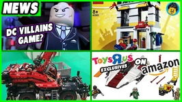LEGO TRU Exclusives on Amazon- Largest Technic Set EVER and More