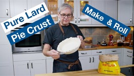 How To Make And Roll Lard Pie Pastry