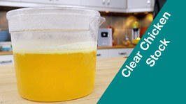 Make Clear Perfect Ratio Chicken Stock