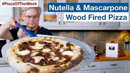 Nutella And Mascarpone Wood Fired Pizza