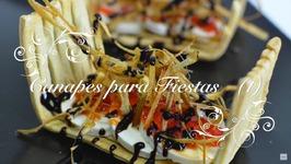Canapes Para Fiestas 1 / Canapes Originales / Canapes Faciles Y Baratos / Recetas De Cocina