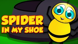 Spider In My Shoe - Schoolies Cartoon - Nursery Rhymes And Songs For Children By Kids Channel