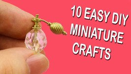 5 Minute Miniature Crafts To Do When You Are Bored 10 Quick And
