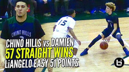LaMelo Ball Gets Shifty And LiAngelo 52 Points Chino Hills vs Damien Pt 2 FULL Highlights
