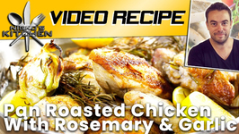 Pan Roasted Chicken With Rosemary And Garlic