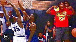La Lakers' Julius Randle Dunked On At The Drew League