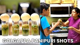 Golgappa PaniPuri Shots Moment