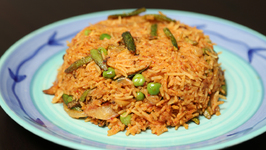 Masale Bhaat - Simple Maharashtrian Masala Rice - Recipe By Archana In Marathi